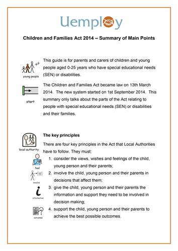 Children & Families Act 2014 Summary